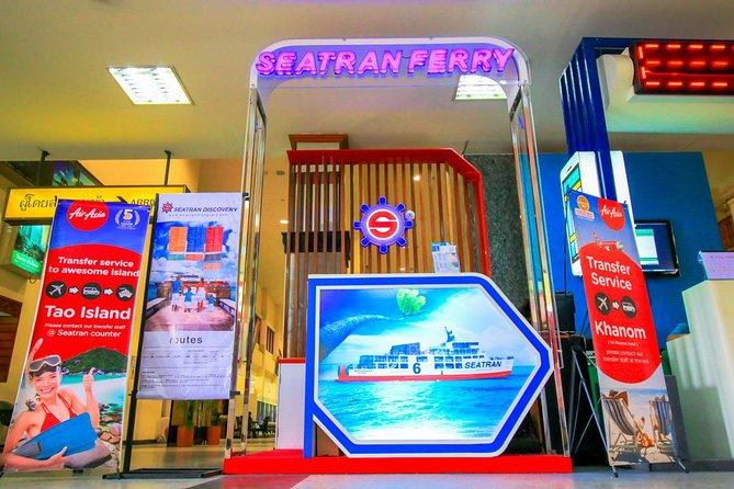 Meet at Seatran counter at Nakhon Si Thammarat Airport