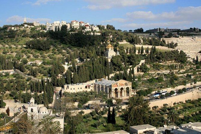 Jerusalem Old City from Tel Aviv