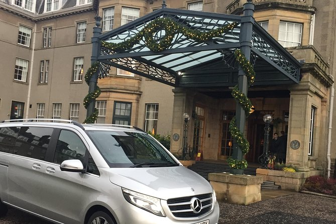 Edinburgh Airport to St Andrews by Luxury Private Transfer