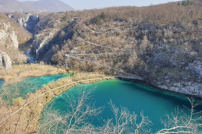 Plitvice Lakes Private Guided Tour from Pula with Transfer to Zagreb