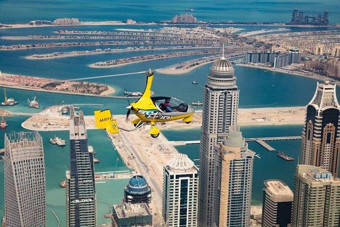 Gyrocopter flight over Dubai: Covid-19 safe & PRIVATE tour