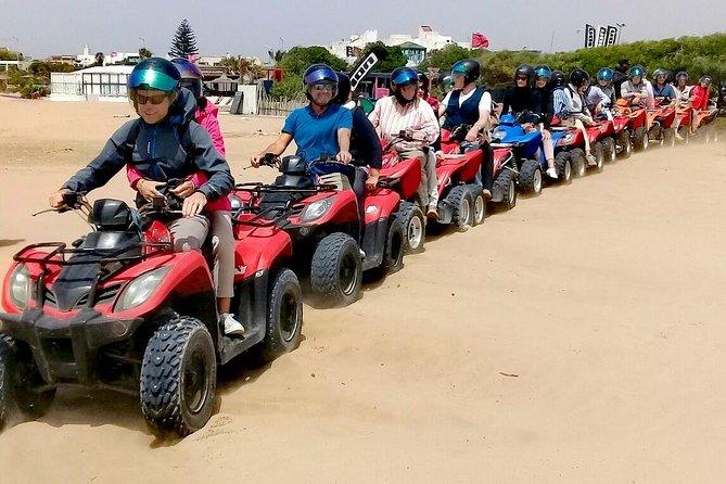 Quad bike ride on the beach and the dunes of Essaouira