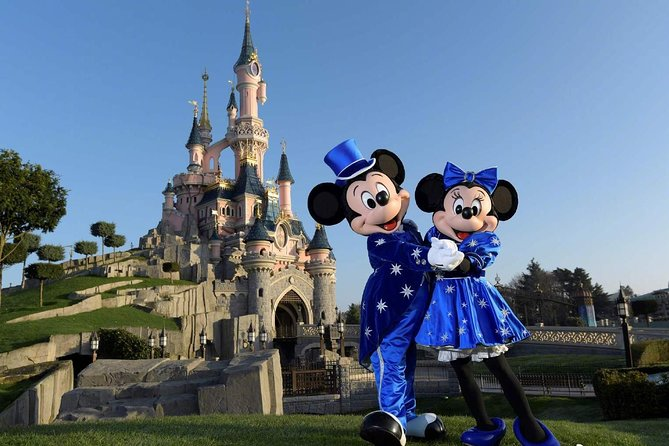 Private Minivan Paris Airport Transfer from Orly Airport (ORY) to Disneyland