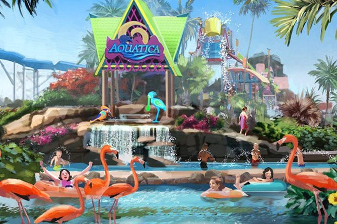 Aquatica Sea World's Water Park Transportation and Admission