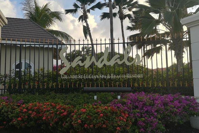 St Lucia Airport Transfer Hewanorra (UVF) to SANDALS Grande - Regency - Halcyon
