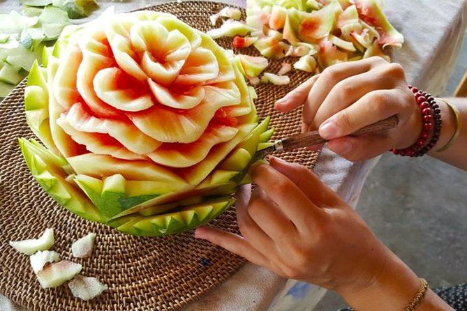 Bali Fruit Carving Class Tour