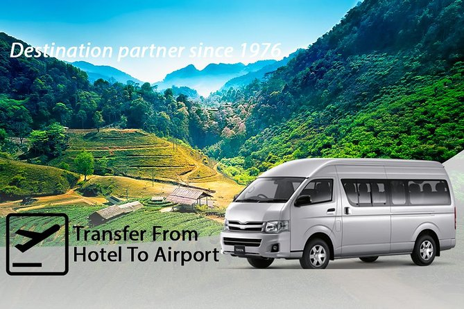 Chiang Mai Airport Departure – Shared Transfer