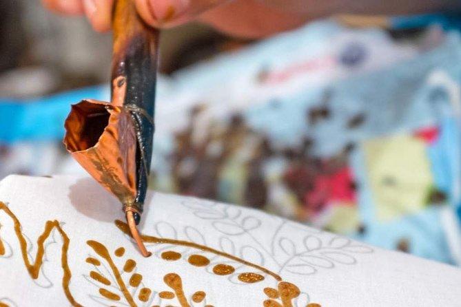 Batik Making Class Admission Ticket