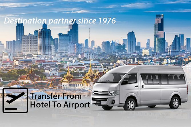 Bangkok Airport Departure – Shared Transfer