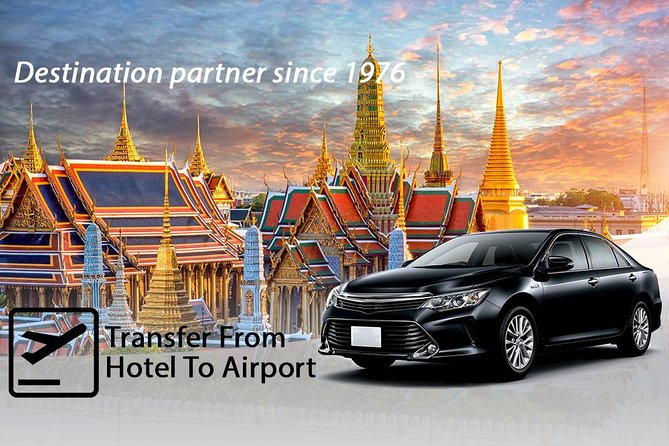 Traslado de partida privado: do hotel ao aeroporto de Bangcoc