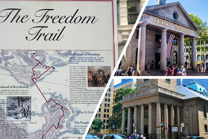 FREEDOM TRAIL + HARVARD YARD - COMBO - Self Guided Audio Guide (iPhone, Android)