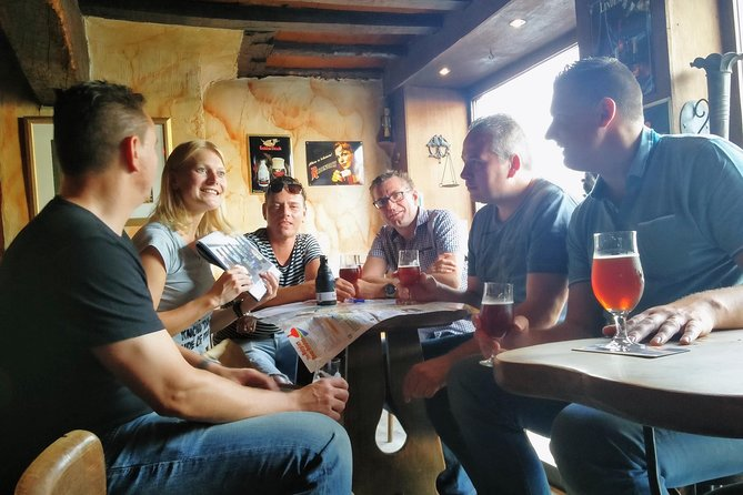 Private: Discover Bruges beers & brewery with chocolate pairing by a young local