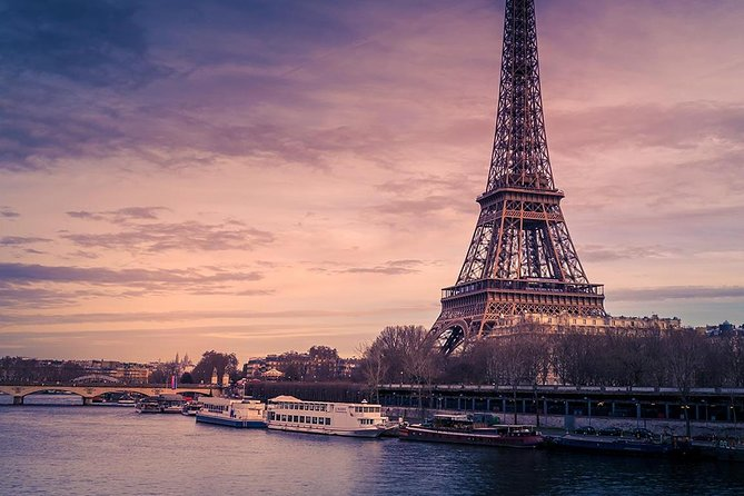 Eiffel Tower Skip the Line Entrance and Evening Illuminations Seine River Cruise