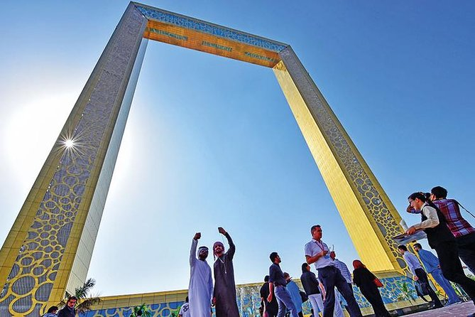 Dubai Frame Ticket with Private Hotel Pickup and Drop off