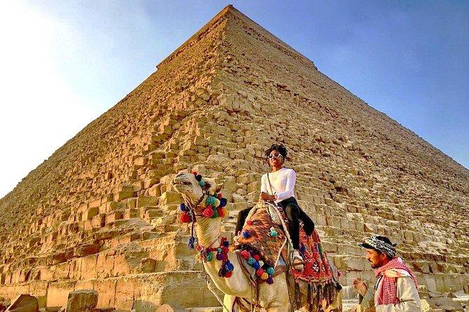 Pyramids, Sphinx, Saqqara, & Memphis Full Day Private Trip & Tours