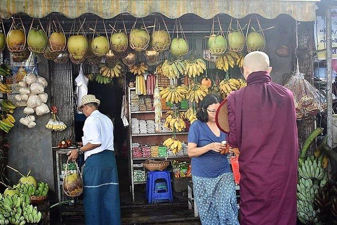 Exotic Yangon, early morning tour