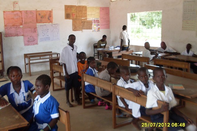 A local school visit