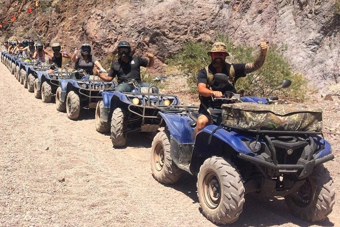 Lake Mead National Park ATV Tour to the Colorado River & Off-Road Racing Combo