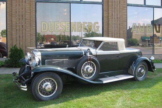 Auburn Cord Duesenberg Automobile Museum Admission Ticket