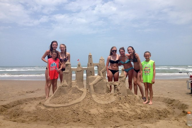 Sand Castle Lesson in Galveston