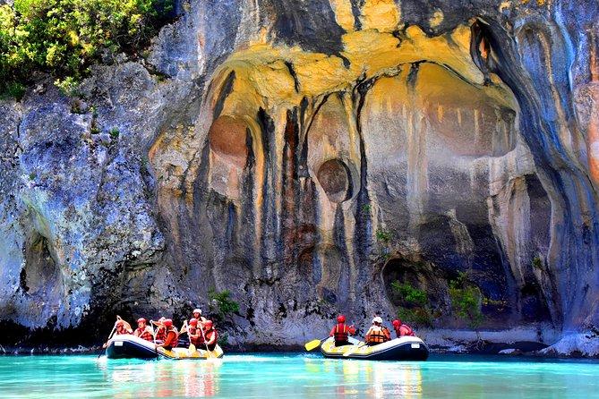 Rafting in the wild Vjosa river Permet