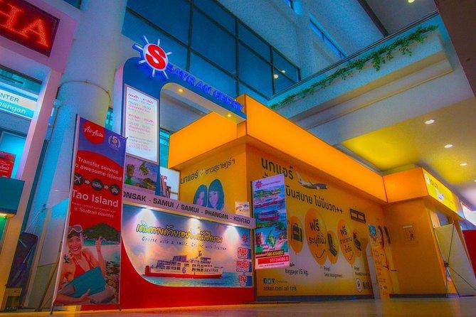 Meet at Seatran counter at Surat Thani Airport