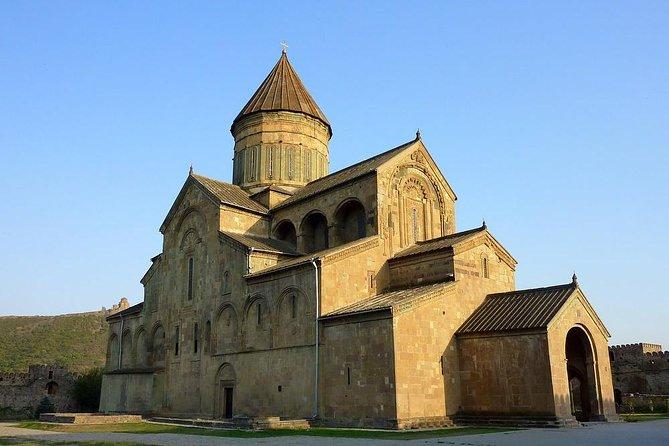 Old capital Mtskheta, Jvari monastery, Cave town Uplis tsikhe