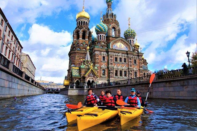 Kayak Tour in St. Petersburg's City Center