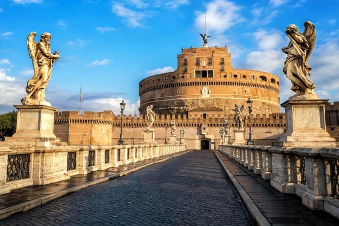 Rome Combo Tour: Vatican Museum & Castel Sant' Angelo with Typical Lunch