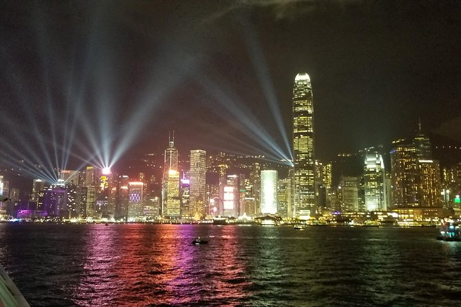 Symphony of Lights Hong Kong Harbor Night Cruise with Unlimited Drinks