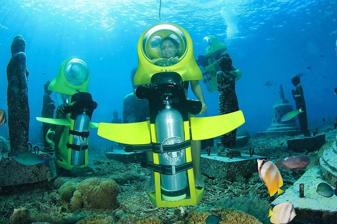Bali Underwater Scooter Admission Ticket