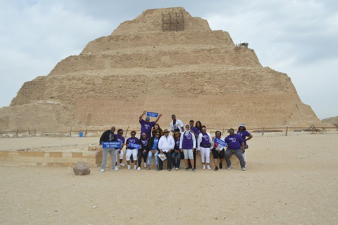Giza Pyramids & Saqqara And Memphis Package Tour photo 2
