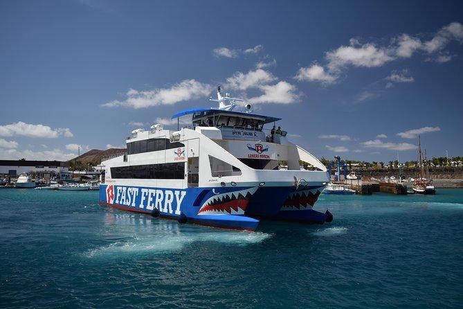 Return Ferry Crossing from Fuerteventura to Lanzarote