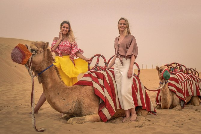 Dubai Morning Quad Bike with Sandboarding and Camel Ride photo 8