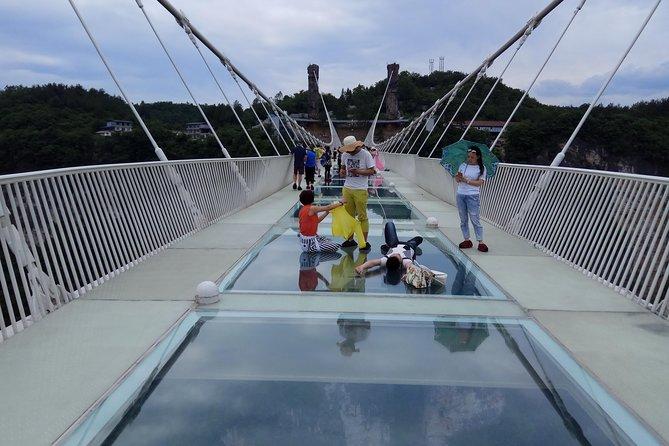 Baofeng Lake and Zhangjiajie Glass Bridge and Grand Canyon Day Tour