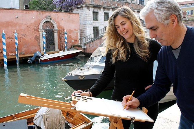 Watercolors in Venice: painting class with famous artist
