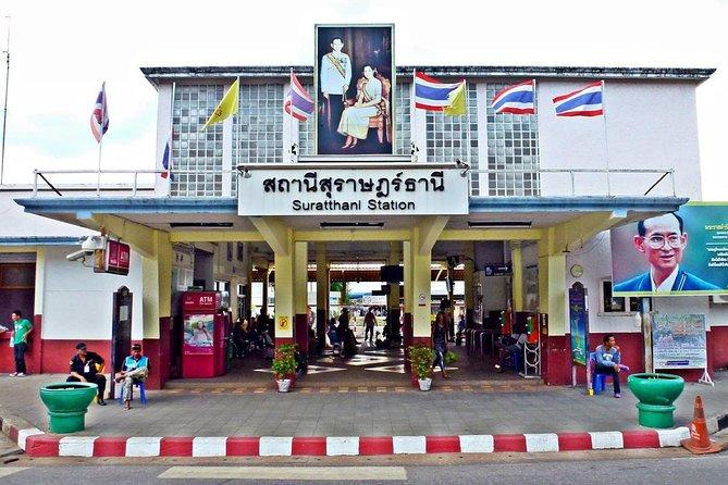 Koh Phangan to Surat Thani Train Station by Lomprayah Catamaran and Coach