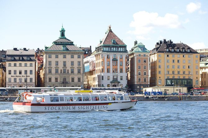 Hop-On Hop-Off Bus and Boat Ticket in Stockholm photo 3