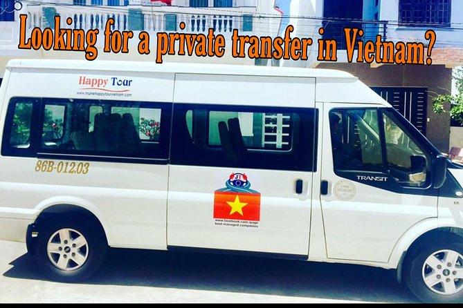 Private Minivan Transfer Mui Ne - Ho Chi Minh