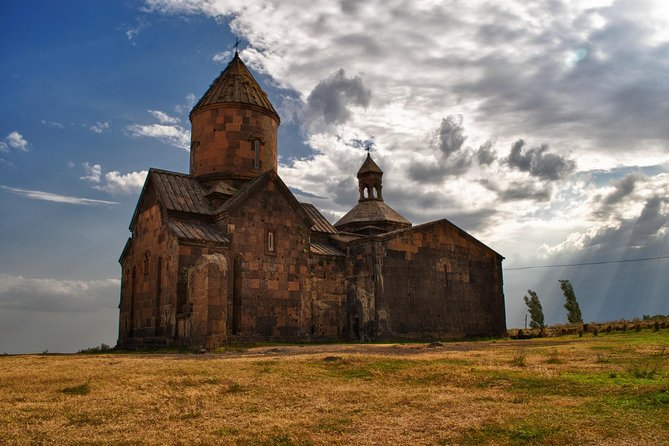 Private tour to Saghmosavank Monastery, Alphabet Monument, Amberd Fortress