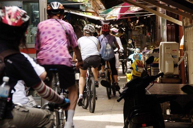 Bangkok Back Street Small Group Bike Tour