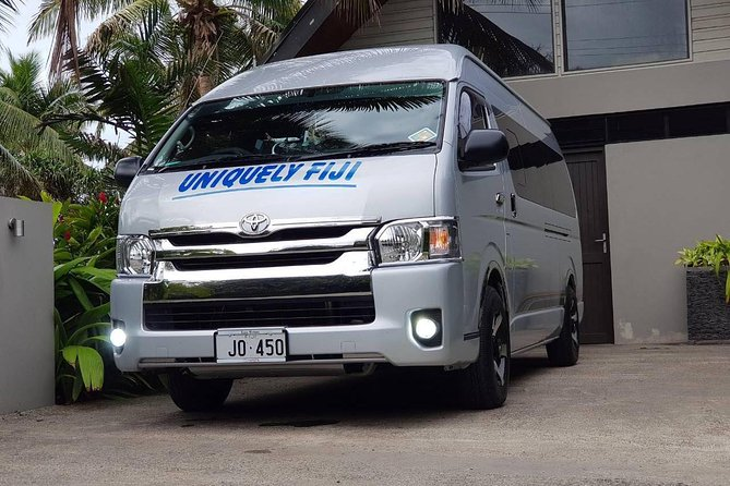 Shuttle transfer to Nadi Airport
