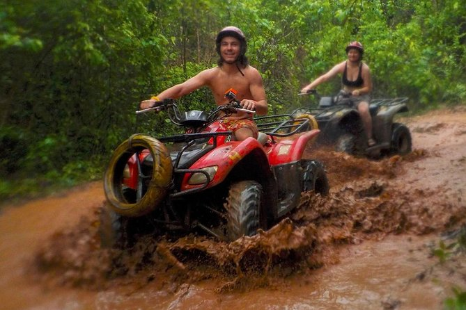 Incredible Atv in Cancun, feel the jungle with ziplines and cenote swim.