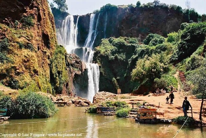 Private excursion to Ouzoud waterfalls