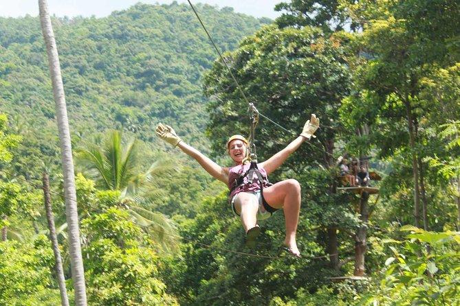 Ko Samui : Sky Fox Cable Ride in the Jungle