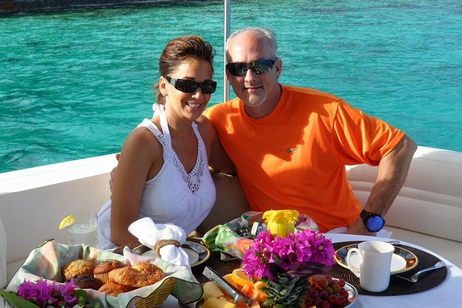 Enjoy a French Style Continental Breakfast and Gourmet Lunch on your private Yacht
