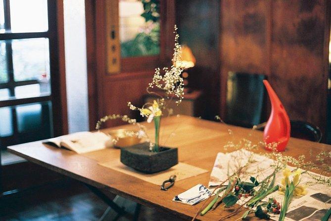 Ikebana Workshop in a 200 Year Old Ryokan