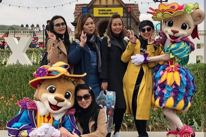 Everland Themepark with Private transfer round trip from Seoul