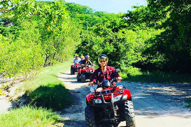 Full-Day Package: 4x4 ATV, Water Cave, Catamaran and Snorkeling from Punta Cana
