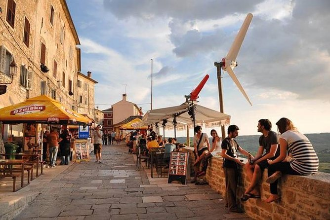 From Ljubljana, Slovenia to Istrian peninsula, Croatia. Private day tour.